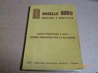 DATI RIPARAZIONE FIAT 600 600D 001